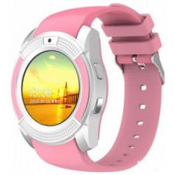 Часы Smart Watch V8 Pink Гарантия 1 месяц