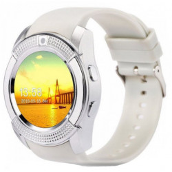 Часы Smart Watch V8 White Гарантия 1 месяц
