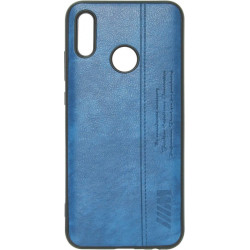Силикон Huawei P Smart 2019 blue BMW Leather