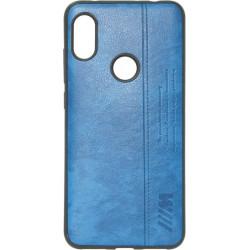 Силикон Xiaomi Redmi Note6 Pro black BMW Leather