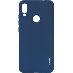 Силикон Xiaomi Redmi Note7 dark blue Inavi