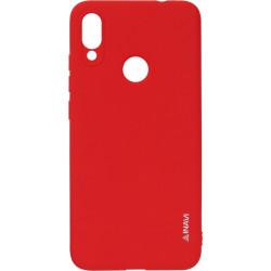 Силикон Xiaomi Redmi Note7 red Inavi