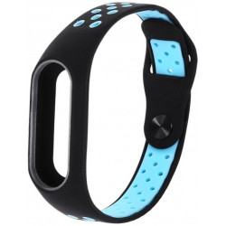 Ремешок Xiaomi Mi Band2 Black/Blue Nike
