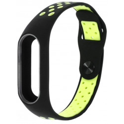 Ремешок Xiaomi Mi Band2 Black/Green Nike