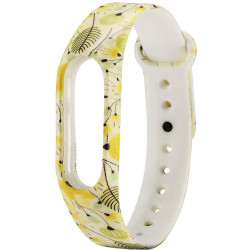 Ремешок Xiaomi Mi Band2 Yellow Flowers