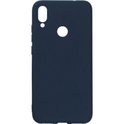 Силикон Xiaomi Redmi Note7 dark blue SMTT