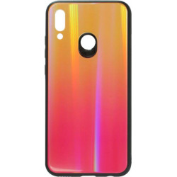 Накладка Huawei P Smart 2019 sunset red Chameleon Glass