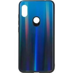 Накладка Xiaomi Redmi Note6 pro deep blue Chameleon Glass