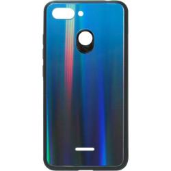 Накладка Xiaomi Redmi6 deep blue Chameleon Glass