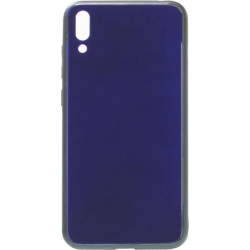 Накладка Huawei Y7 2019 blue Glass