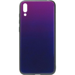 Накладка Huawei Y7 2019 blue/violet Glass