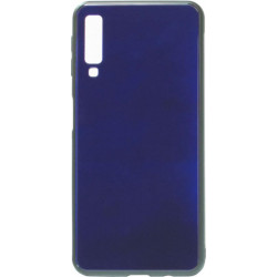 Накладка SA A750/A7 (2018) blue Glass