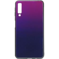 Накладка SA A750/A7 (2018) blue/violet Glass