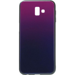 Накладка SA J610/J6+ blue/violet Glass
