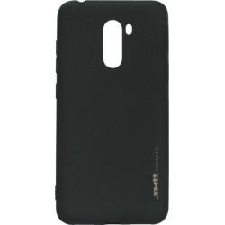 Силикон Xiaomi Pocophone F1 black SMTT