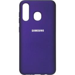 Накладка SA A505 violet Soft Case