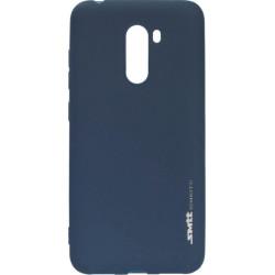 Силикон Xiaomi Pocophone F1 dark blue SMTT