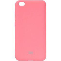Накладка Xiaomi Redmi Go pink Soft Case