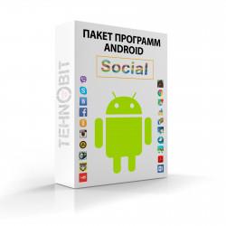 Пакет программ Android Социальные сети (10)