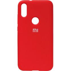 Накладка Xiaomi Mi Play red Soft Case