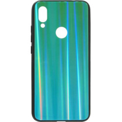 Накладка Xiaomi Redmi7 blue/green Chameleon Glass