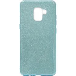 Силикон SA A730 A8+ blue Glitter