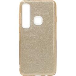 Силикон SA A920/A9 (2018) gold Glitter