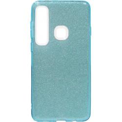 Силикон SA A920/A9 (2018) blue Glitter