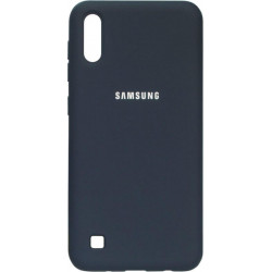 Накладка SA A105 dark blue Soft Case