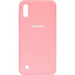 Накладка SA A105 pink Soft Case