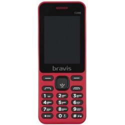 Bravis C246 Fruit Dual Sim Red UA-UСRF Оф. гарантия 12 мес!