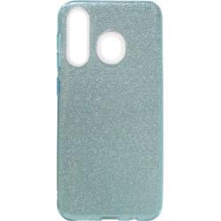 Силикон SA A205/A305 blue Glitter