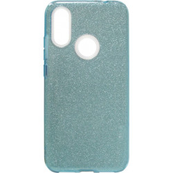 Силикон Xiaomi Redmi7 blue Glitter