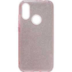 Силикон Xiaomi Redmi7 pink Glitter