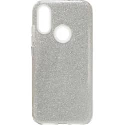 Силикон Xiaomi Redmi7 silver Glitter