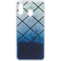 Накладка SA A205/A305 blue Gradient аквариум