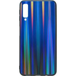 Накладка SA A750/A7 (2018) deep blue Chameleon Glass