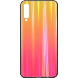 Накладка SA A750/A7 (2018) sunset red Chameleon Glass