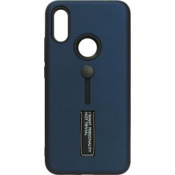 Накладка Xiaomi Redmi7 dark blue Hold Soft Touch