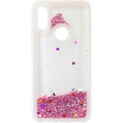 Накладка Xiaomi Redmi7 pink аквариум