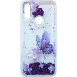 Накладка Xiaomi Redmi7 violet baterfly аквариум