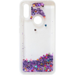 Накладка Xiaomi Redmi7 violet аквариум