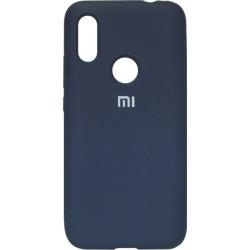 Накладка Xiaomi Redmi7 dark blue Soft Case
