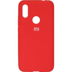 Накладка Xiaomi Redmi7 red Soft Case
