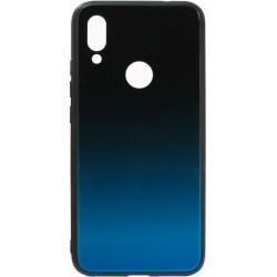 Накладка Xiaomi Redmi7 blue/black Gradient Glass