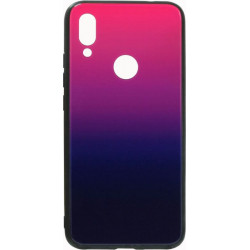 Накладка Xiaomi Redmi7 blue/violet Gradient Glass