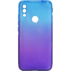 Силикон Xiaomi Redmi7 blue/violet Gradient