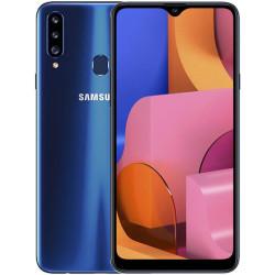 Samsung Galaxy A20s 2019 A207F 3/32GB Blue (SM-A207FZBD) UA-UСRF Официальная гарантия 12 мес. + FULL-комплект аксессуаров*
