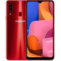 Samsung Galaxy A20s 2019 A207F 3/32GB Red (SM-A207FZRD) UA-UСRF Официальная гарантия 12 мес. + FULL-комплект аксессуаров*