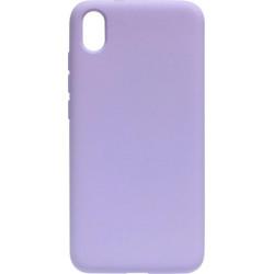 Силикон Xiaomi Redmi7A light violet Silicone Case